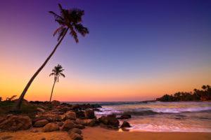 Coucher de soleil Sri Lanka